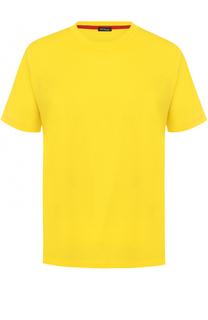 Хлопковая футболка с круглым вырезом Kiton