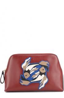 Кожаная косметичка Zodiac Origami Diane Von Furstenberg