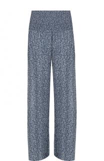 Широкие брюки с эластичным поясом и принтом Denim&Supply by Ralph Lauren