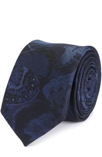Шелковый галстук с принтом Valentino