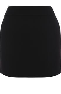 Мини-юбка с широким поясом Saint Laurent