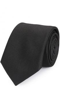 Шелковый галстук с контрастной отделкой Dsquared2