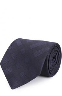 Шелковый галстук в клетку Burberry