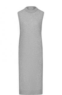 Удлиненный топ без рукавов с высокими разрезами T by Alexander Wang
