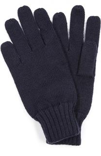Шерстяные перчатки с вышивкой Polo Ralph Lauren