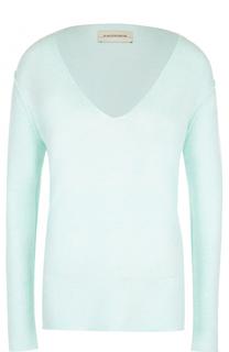 Кашемировый пуловер с V-образным вырезом By Malene Birger