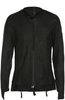 Кожаная куртка с молниями Barbara I Gongini