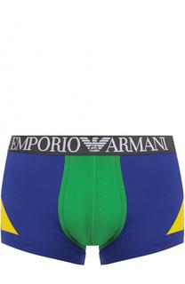Боксеры из эластичного хлопка Emporio Armani