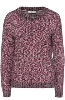 Пуловер фактурной вязки с круглым вырезом Lanvin