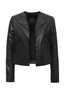 Куртка кожаная Sinequanone