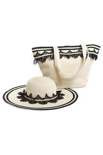 Комплект: сумка, шляпа Moltini