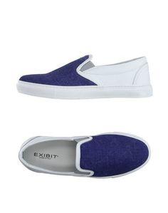 Низкие кеды и кроссовки Exibit