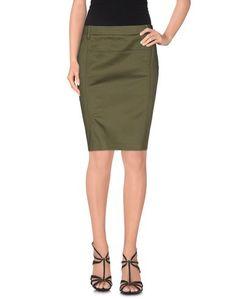 Юбка до колена Versace Jeans Couture