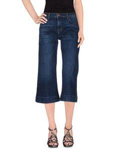 Джинсовые брюки-капри J Brand