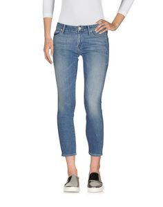 Джинсовые брюки-капри Mother