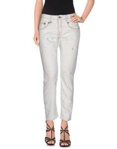 Джинсовые брюки-капри R13