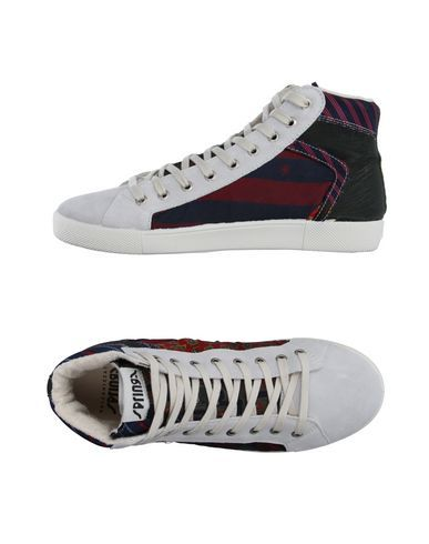 Высокие кеды и кроссовки