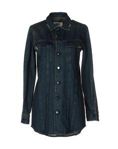 Джинсовая рубашка MM6 by Maison Margiela