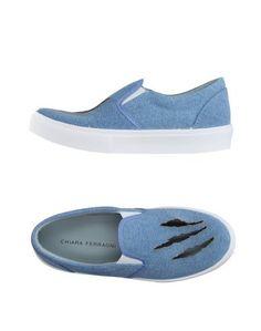 Низкие кеды и кроссовки Chiara Ferragni