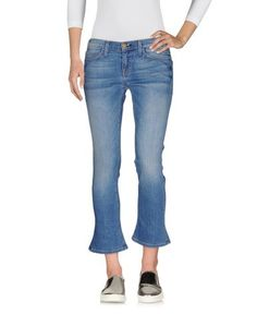 Джинсовые брюки-капри Current/Elliott