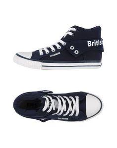 Высокие кеды и кроссовки British Knights