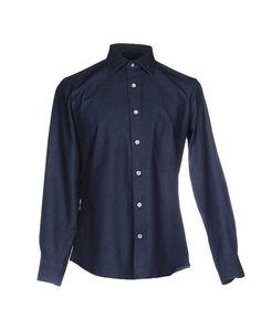 Джинсовая рубашка Simeone Napoli