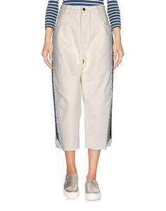 Джинсовые брюки-капри Laneus