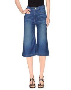 Джинсовые брюки-капри Frame Denim