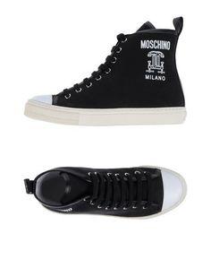 Высокие кеды и кроссовки Moschino Couture