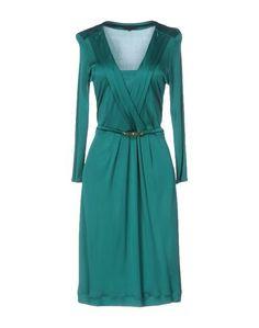 Платье до колена Silk AND Soie