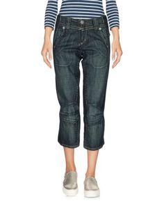 Джинсовые брюки-капри LE Jean DE MarithÉ + FranÇois Girbaud