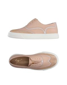 Низкие кеды и кроссовки Giuseppe Zanotti Design