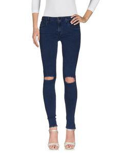 Джинсовые брюки People