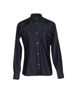 Джинсовая рубашка Mauro Grifoni