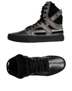 Высокие кеды и кроссовки Supra