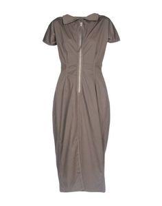 Платье длиной 3/4 Drkshdw BY Rick Owens