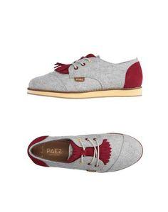 Обувь на шнурках Paez