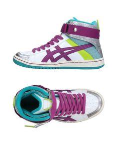 Высокие кеды и кроссовки Asics