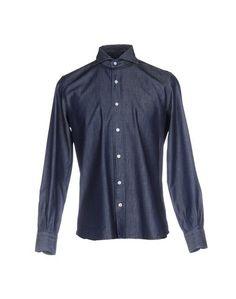 Джинсовая рубашка Mazzarelli