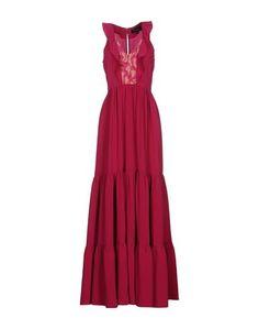Длинное платье Saloni