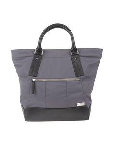 Большая сумка из текстиля Giuliano Fujiwara