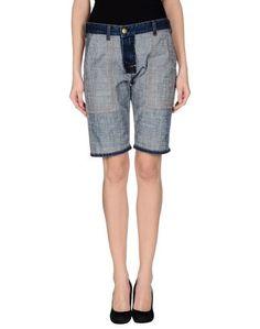 Джинсовые брюки-капри Current/Elliot + Marni