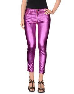 Джинсовые брюки-капри 75 Faubourg