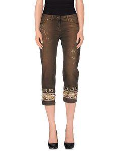 Джинсовые брюки-капри Lupattelli