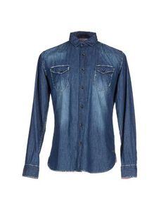 Джинсовая рубашка Happer & CO