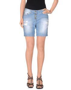 Джинсовые шорты Cristina Gavioli Jeans