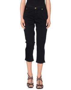 Джинсовые брюки-капри Glam Cristinaeffe
