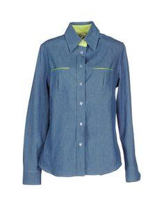 Джинсовая рубашка Maison Olivia