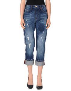 Джинсовые брюки-капри Eredi DEL Duca