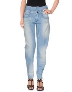 Джинсовые брюки Theyskens Theory